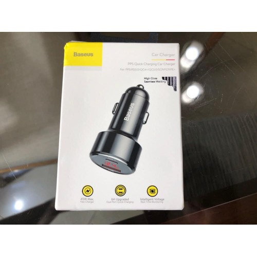 BASEUS PPS QUICK CHARGING CAR CHARGER OF 45W