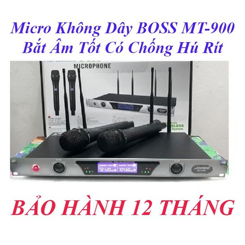 Micro không dây cao cấp boss mt-990 bắt âm siêu tốt - 12145906 , 20959886 , 15_20959886 , 1950000 , Micro-khong-day-cao-cap-boss-mt-990-bat-am-sieu-tot-15_20959886 , sendo.vn , Micro không dây cao cấp boss mt-990 bắt âm siêu tốt