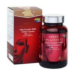 Thực Phẩm Chức Năng Nhau Thai Cừu Naro Sheep Placenta 38000mg - Chai 100 Viên