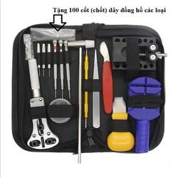 Bộ dụng cụ sửa chữa đồng hồ kèm 100 chốt dây các loại