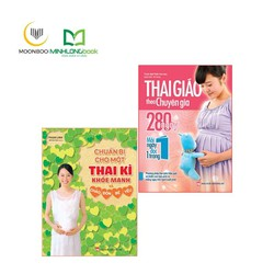 Sách - Combo Chuẩn Bị Cho Một Thai Kỳ khỏe mạnh + Thai giáo theo chuyên gia