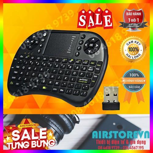 Bàn phím không dây mini cầm tay kiêm chuột cảm ứng UKB 500