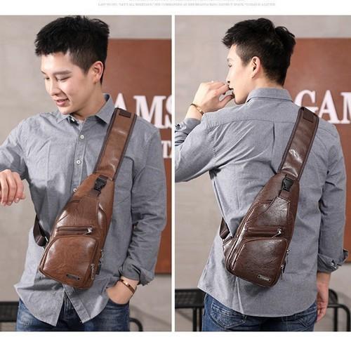 Túi đeo chéo trước ngực nam - tdc-02