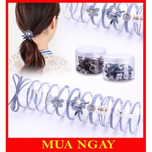 Hộp chun buộc tóc 12 chiếc siêu đẹp - 12962811 , 20953834 , 15_20953834 , 70000 , Hop-chun-buoc-toc-12-chiec-sieu-dep-15_20953834 , sendo.vn , Hộp chun buộc tóc 12 chiếc siêu đẹp