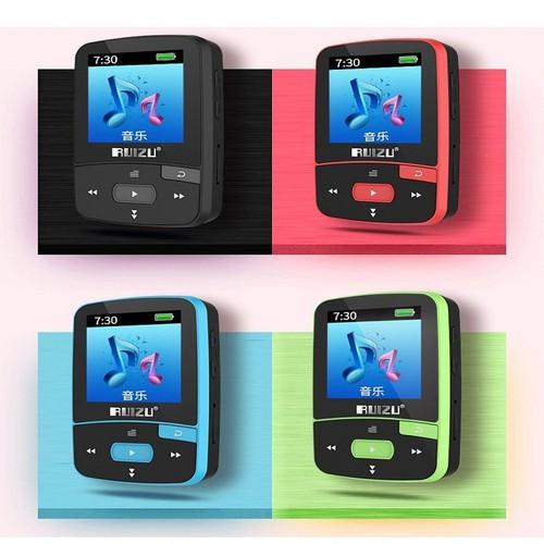 Máy nghe nhạc lossless bluetooth 4.0 ruizu x50 8gb + thẻ nhớ 8gb
