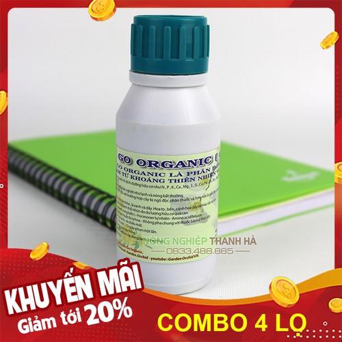 Bộ 4 lọ - Dung dịch hữu cơ Go Organic dinh dưỡng nuôi cây - Lọ 100ml - 12979142 , 20975848 , 15_20975848 , 112000 , Bo-4-lo-Dung-dich-huu-co-Go-Organic-dinh-duong-nuoi-cay-Lo-100ml-15_20975848 , sendo.vn , Bộ 4 lọ - Dung dịch hữu cơ Go Organic dinh dưỡng nuôi cây - Lọ 100ml
