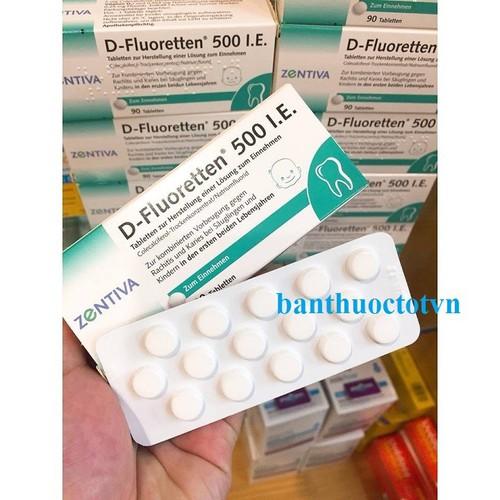 Combo 2 Hộp Vitamin D Fluoretten 500 IE của Đức Bổ Sung Vitamin D Cho Trẻ Thấp Còi,Chậm Tăng Cân - 12977889 , 20973946 , 15_20973946 , 360000 , Combo-2-Hop-Vitamin-D-Fluoretten-500-IE-cua-Duc-Bo-Sung-Vitamin-D-Cho-Tre-Thap-CoiCham-Tang-Can-15_20973946 , sendo.vn , Combo 2 Hộp Vitamin D Fluoretten 500 IE của Đức Bổ Sung Vitamin D Cho Trẻ Thấp Còi,C