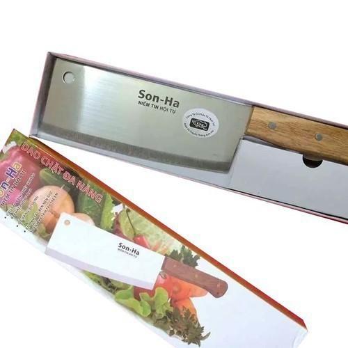 Dao chặt xương cỡ lớn-dao chặt thịt gà-dao chặt cao cấp sơn hà