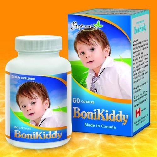 Bonikiddy bé khỏe mẹ yên tâm lọ 60 viên Canada