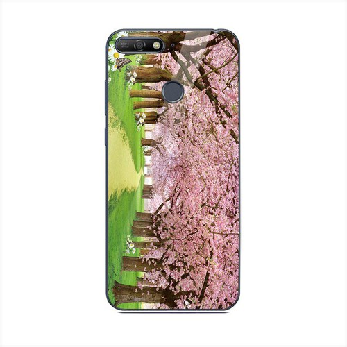 Ốp điện thoại kính cường lực cho máy Huawei Y6 Prime - Vườn Hoa MS VHOA054