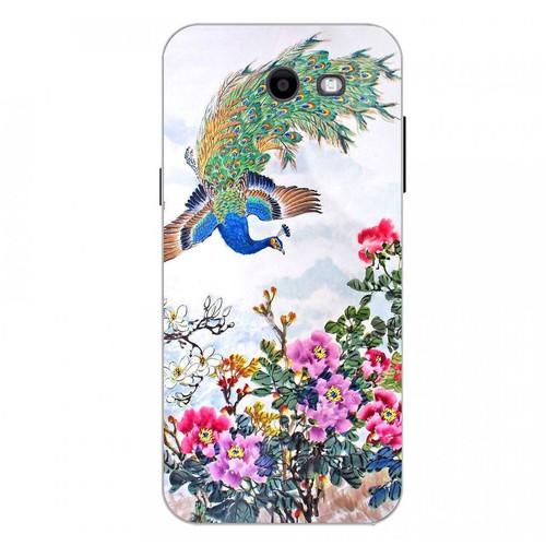 Ốp điện thoại kính cường lực cho máy Samsung Galaxy J3 Prime - chim công phượng MS CPHUONG009