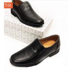 Giày lười nam da nam chuẩn , mẫu giày da giành cho lứa tuổi trung niên ,đế cao su đi cực êm ,da mềm .Được kiểm tra hàng