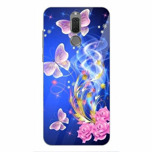 Ốp kính cường lực cho điện thoại Huawei Nova 2i - bướm đẹp MS BUOMD019