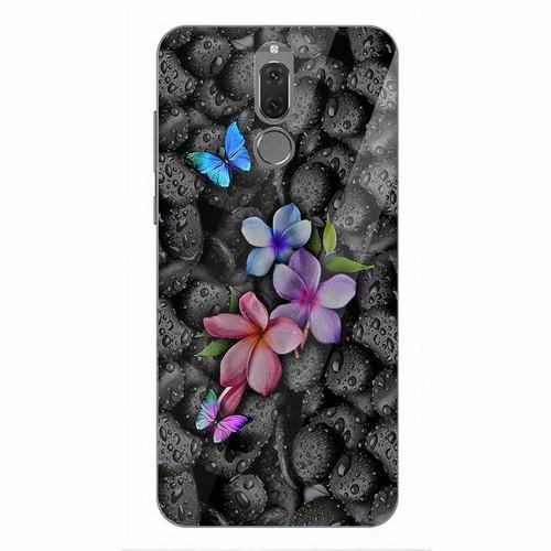 Ốp điện thoại kính cường lực cho máy Huawei Nova 2i - bướm đẹp MS BUOMD020