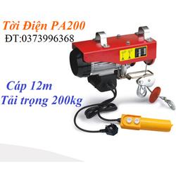 Máy tời điện - máy tời điện giá rẻ PA-200