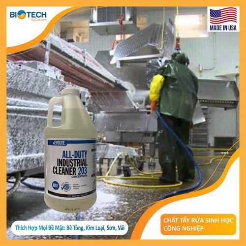 Chất tẩy rửa vệ sinh công nghiệp EVOLVE AGAIA ALL DUTY INDUSTRIAL CLEANER 203 chai 2 lít