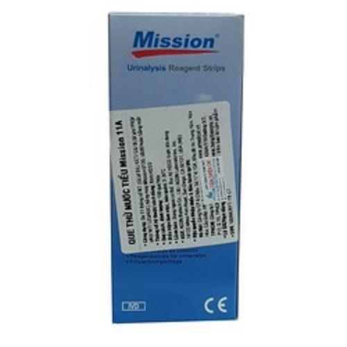 Que thử nước tiểu ACON Mission 11 thông số URS 11 hộp 100 test