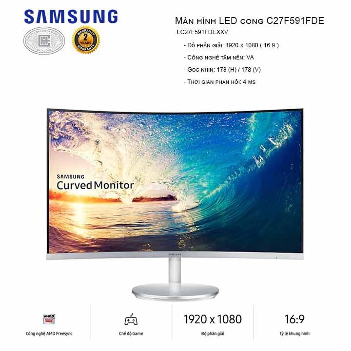 Màn hình máy tính Samsung LC27F591FDEXXV- màn cong 27 inch - LC27F591FDEXXV