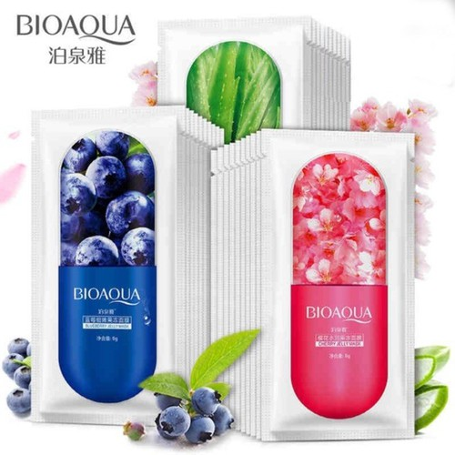 Combo 10 Mặt nạ viên thuốc Jelly Mask Bioaqua Nội Địa Trung dưỡng ẩm chống lão hóa