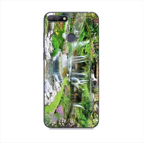 Ốp kính cường lực cho điện thoại Huawei Y6 Prime - Vườn Hoa MS VHOA063