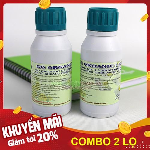 Bộ 2 lọ - Dung dịch dinh dưỡng tăng trưởng cho cây Go Organic - Lọ 100ml - 12976948 , 20972962 , 15_20972962 , 65000 , Bo-2-lo-Dung-dich-dinh-duong-tang-truong-cho-cay-Go-Organic-Lo-100ml-15_20972962 , sendo.vn , Bộ 2 lọ - Dung dịch dinh dưỡng tăng trưởng cho cây Go Organic - Lọ 100ml