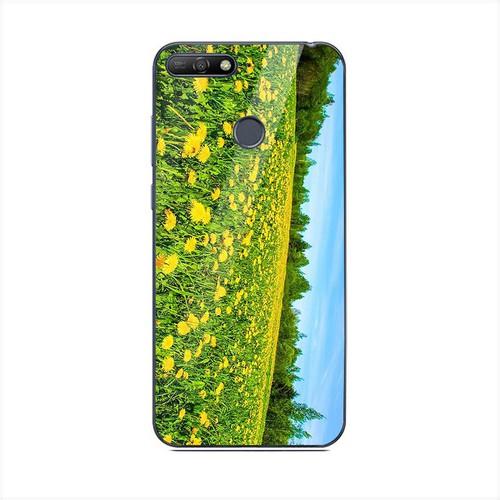 Ốp điện thoại kính cường lực cho máy Huawei Y6 Prime - Vườn Hoa MS VHOA053