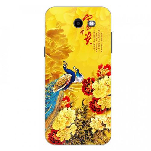 Ốp điện thoại kính cường lực cho máy Samsung Galaxy J3 Prime - chim công phượng MS CPHUONG018