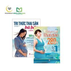 Combo sách Dành Cho Mẹ Bầu : Tri Thức Thai Sản + Hành Trình Thai Giáo