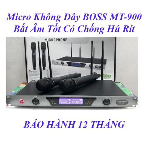 Micro không dây cao cấp boss mt-990 bắt âm siêu tốt