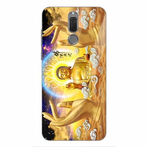 Ốp điện thoại kính cường lực cho máy Huawei Nova 2i - tôn giáo MS TONGIAO005