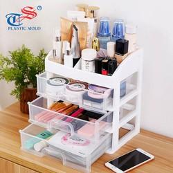 Kệ tủ đựng mỹ phẩm đồ trang điểm đa năng 4 tầng Tashuan TS-5338