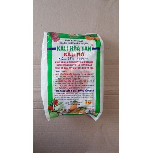 phân bón Kali hòa tan hiệu đầu bò dùng cho các loại cây trồng