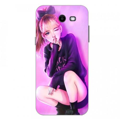 Ốp kính cường lực cho điện thoại Samsung Galaxy J3 Prime - cô gái cá tính MS CGCT001