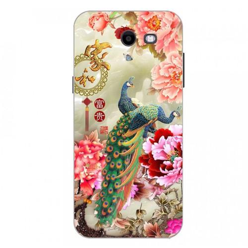 Ốp điện thoại kính cường lực cho máy Samsung Galaxy J3 Prime - chim công phượng MS CPHUONG052
