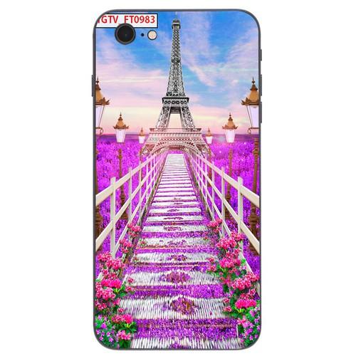 Ốp lưng cứng viền dẻo dành cho điện thoại iphone 7  -  8 - vườn hoa ms vhoa001