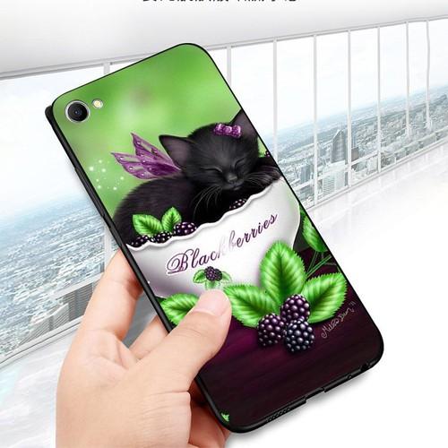 Ốp lưng cứng viền dẻo dành cho điện thoại oppo r9s - dễ thương muốn xỉu ms cute057