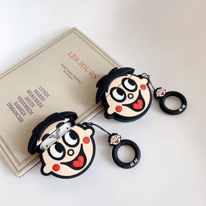Ốp Airpods 1/2 Logo Want Want-PK288