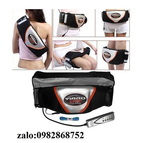 Đai massage tan mỡ bụng công nghệ cao - đai massage tan mỡ