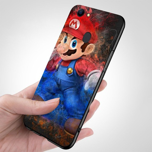 Ốp điện thoại oppo f7 - super mario ms mario024