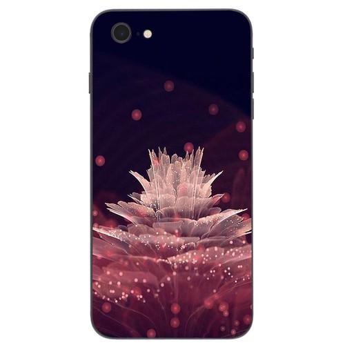 Ốp lưng cứng viền dẻo dành cho điện thoại iphone 6  -  6s - đủ nắng thì hoa nở ms dnthn023