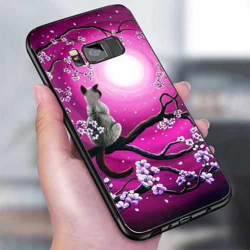 Ốp lưng điện thoại samsung galaxy s8 plus - dễ thương muốn xỉu ms cute019