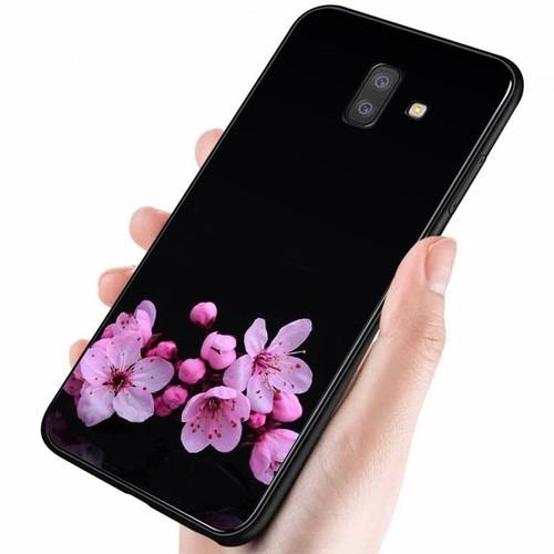 Ốp lưng cứng viền dẻo dành cho điện thoại samsung galaxy a5 2018 - a8 2018 - đủ nắng thì hoa nở ms dnthn029
