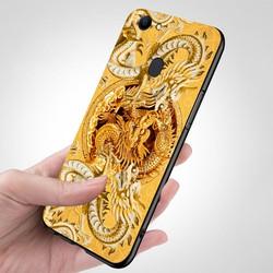 Ốp lưng cứng viền dẻo dành cho điện thoại Oppo F5 - F5 Youth - hình Điêu Khắc MS DKHAC003