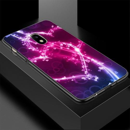 Ốp lưng cứng viền dẻo dành cho điện thoại samsung galaxy a3 2015 - trái tim tình yêu ms love035