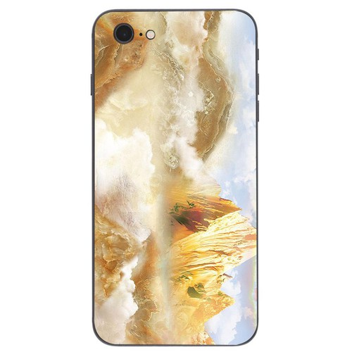 Ốp điện thoại dành cho máy iphone 6 plus - 6s plus - hình vân đá ms vanda009