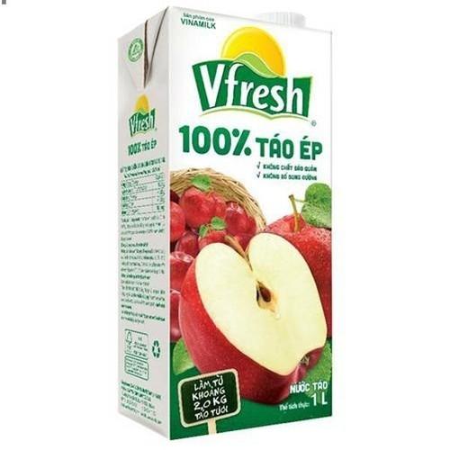 Nước táo ép vinamilk vfresh 1 lít - 2 hộp vfresh tặng 1 hộp atiso 1 lít - 13039506 , 21069621 , 15_21069621 , 42000 , Nuoc-tao-ep-vinamilk-vfresh-1-lit-2-hop-vfresh-tang-1-hop-atiso-1-lit-15_21069621 , sendo.vn , Nước táo ép vinamilk vfresh 1 lít - 2 hộp vfresh tặng 1 hộp atiso 1 lít