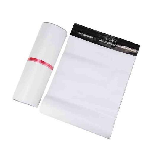 100 túi niêm phong đựng hàng chuyển phát nhanh 20x35 cm, có keo dán miệng , thay thế hộp đựng
