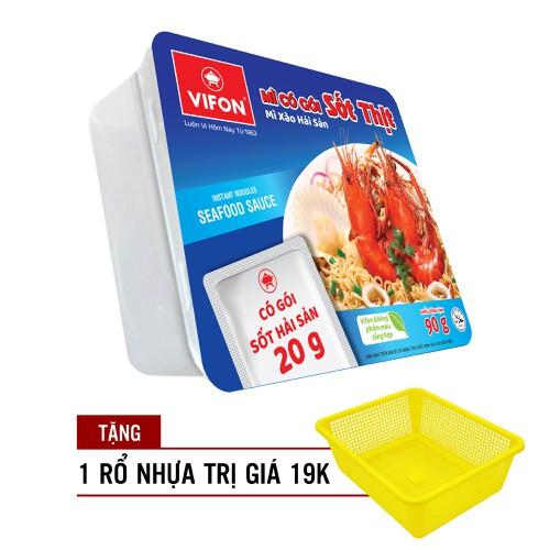 Thùng 18 khay mì xào hải sản 90g vifon tặng rổ nhựa trị giá 19k - 13031731 , 21059373 , 15_21059373 , 199000 , Thung-18-khay-mi-xao-hai-san-90g-vifon-tang-ro-nhua-tri-gia-19k-15_21059373 , sendo.vn , Thùng 18 khay mì xào hải sản 90g vifon tặng rổ nhựa trị giá 19k
