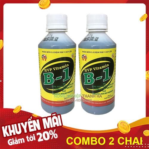 Bộ 2 lọ - phân bón lá hvp vitamin b1 dinh dưỡng cây trồng - lọ 250ml - 13011068 , 21032220 , 15_21032220 , 65000 , Bo-2-lo-phan-bon-la-hvp-vitamin-b1-dinh-duong-cay-trong-lo-250ml-15_21032220 , sendo.vn , Bộ 2 lọ - phân bón lá hvp vitamin b1 dinh dưỡng cây trồng - lọ 250ml