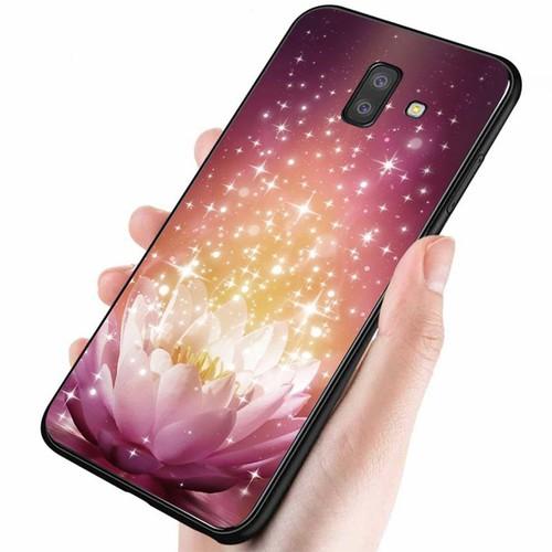 Ốp lưng cứng viền dẻo dành cho điện thoại samsung galaxy j4 - đủ nắng thì hoa nở ms dnthn028